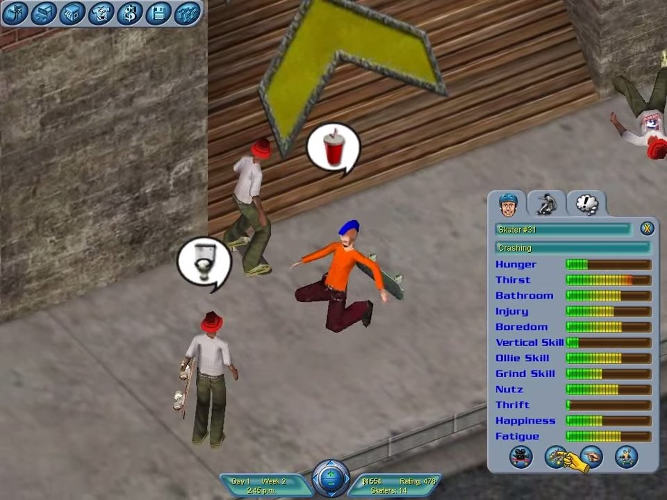 Skateboard park tycoon world tour of 2004 free download « igggames.