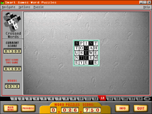 Smart Games Word Puzzles #1 abandonware