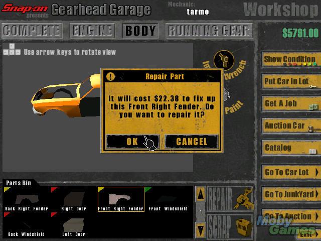 Download snap-on presents gearhead garage: the virtual mechanic.