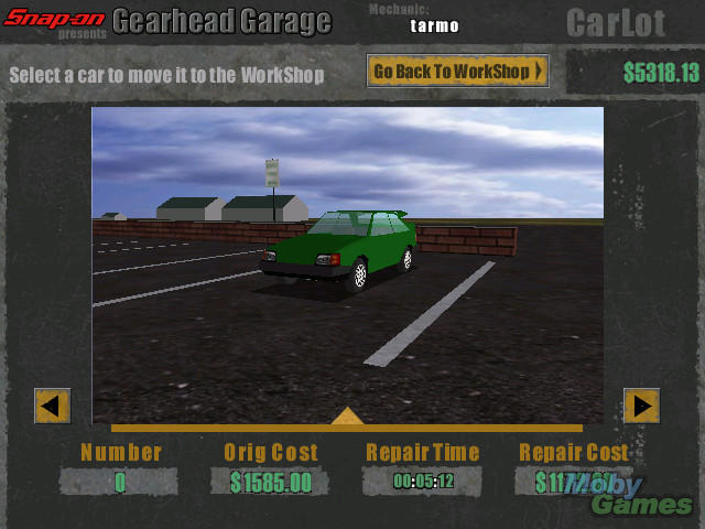 gearhead garage completo