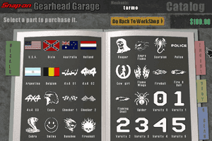 Snap-on presents Gearhead Garage: The Virtual Mechanic 14