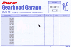 Snap-on presents Gearhead Garage: The Virtual Mechanic 1
