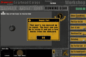 Snap-on presents Gearhead Garage: The Virtual Mechanic 6