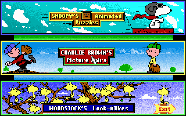 Snoopy's Game Club 1