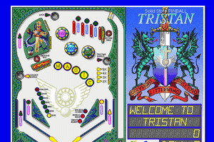 Solid State Pinball: Tristan 1