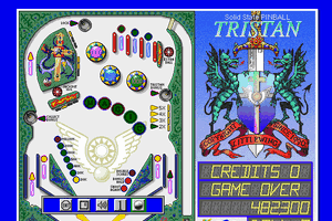 Solid State Pinball: Tristan 4