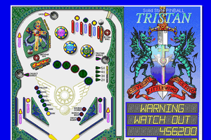 Solid State Pinball: Tristan abandonware