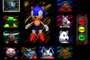 تحميل لعبة سونيك القديمة Sonic