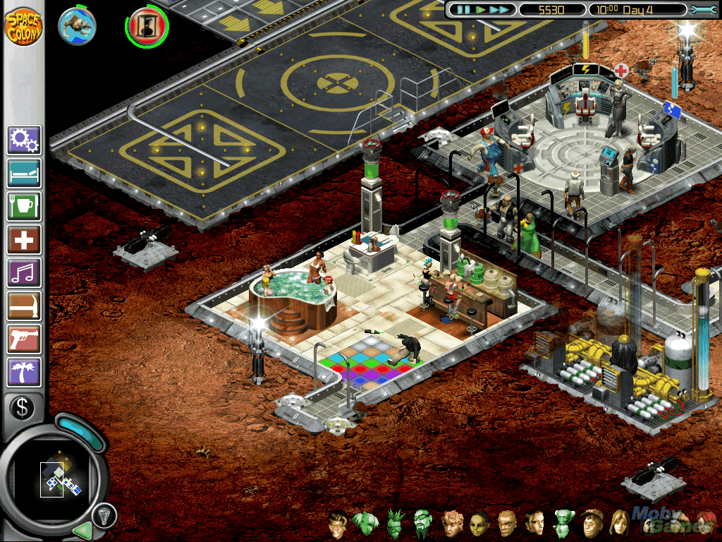 Download Space Colony (Mac) - My Abandonware