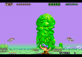 Space Harrier abandonware