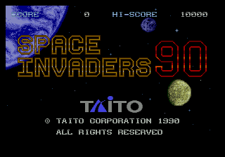 Space Invaders '91 0