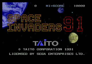 Space Invaders '91 1