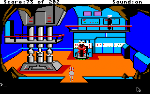 Space Quest: Chapter I - The Sarien Encounter 1