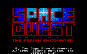 Space Quest: Chapter I - The Sarien Encounter 0