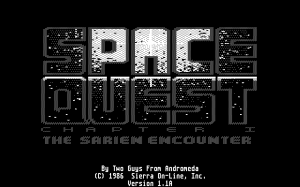 Space Quest: Chapter I - The Sarien Encounter 40