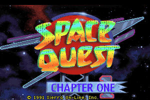 Space Quest I: Roger Wilco in the Sarien Encounter 0