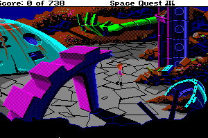 Space Quest III: The Pirates of Pestulon 9