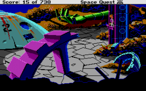 Space Quest III: The Pirates of Pestulon 10