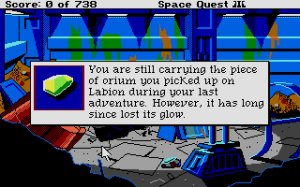 Space Quest III: The Pirates of Pestulon 5