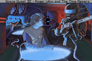 Space Quest IV: Roger Wilco and the Time Rippers 1