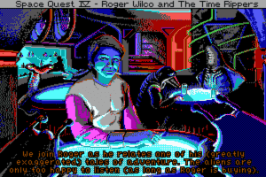 Space Quest IV: Roger Wilco and the Time Rippers 19