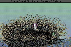 Space Quest IV: Roger Wilco and the Time Rippers abandonware