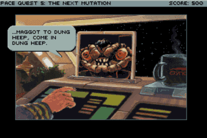 Space Quest V: The Next Mutation 9