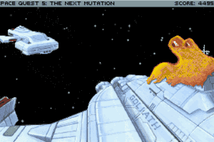 Space Quest V: The Next Mutation 20
