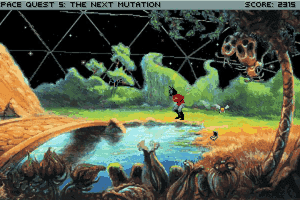 Space Quest V: The Next Mutation 23