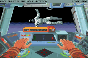 Space Quest V: The Next Mutation 35