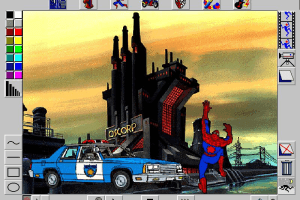 Spider-Man Cartoon Maker abandonware