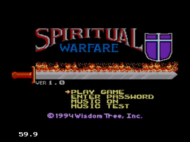 Spiritual Warfare - My Abandonware