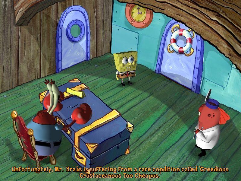 Download Spongebob Squarepants Lights Camera Pants