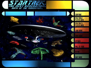 Star Trek: The Next Generation - Birth of the Federation 0