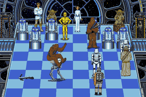 The Software Toolworks' Star Wars Chess 9