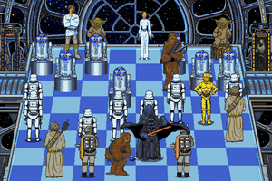 The Software Toolworks' Star Wars Chess 10