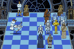 The Software Toolworks' Star Wars Chess 12
