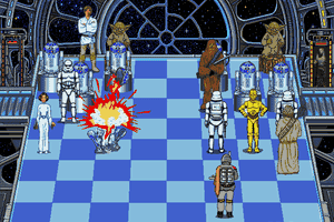 The Software Toolworks' Star Wars Chess 13