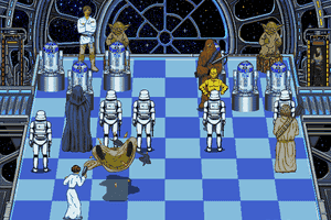 The Software Toolworks' Star Wars Chess 15