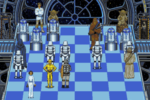 The Software Toolworks' Star Wars Chess 16