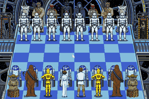 The Software Toolworks' Star Wars Chess 2
