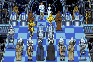 The Software Toolworks' Star Wars Chess 4
