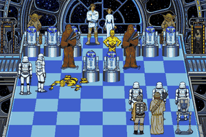 The Software Toolworks' Star Wars Chess 6