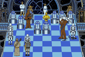 The Software Toolworks' Star Wars Chess 7