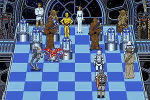 The Software Toolworks' Star Wars Chess 8