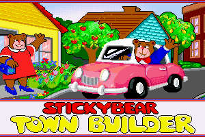 Stickybear Town Builder 0