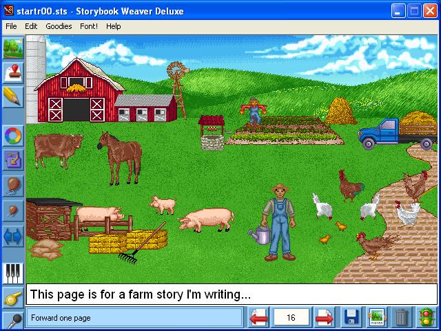 storybook weaver