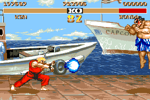 Street Fighter II abandonware