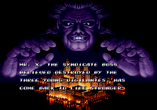 Streets of Rage 2 1