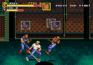 Streets of Rage 2 5